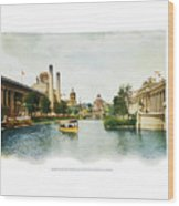 St. Louis World's Fair East Lagoon Wood Print
