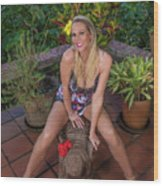St Lucia Darcy 36 Wood Print