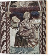 St. Luke Wood Print