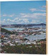 St. Maarten Landscape Wood Print