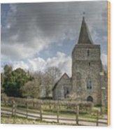 St Margaret Hothfield Wood Print