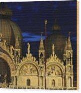 St. Mark's Basilica at Sunrise Wood Print