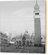 St. Mark's Square Wood Print