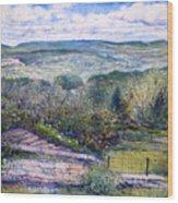 St Martin De Castillon Luberon France 2004  Wood Print