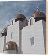 St Mary And St Abraam Coptic Orthodox Church Wood Print