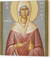 St Mary Magdalene Wood Print by Julia Bridget Hayes