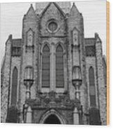 St Mary's Cathedral Memphis Tn Wood Print