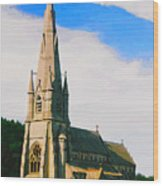 St Mary's Church, Studley Royal  Wood Print