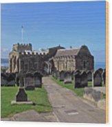 St Mary's Church - Whitby Wood Print