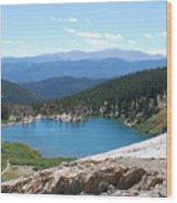 St Marys Glacier Colarado Usa Wood Print