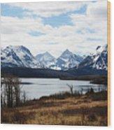 St. Mary's Lake Wood Print