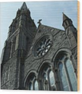 St. Mary's Of The Rosary Catholic Church Wood Print