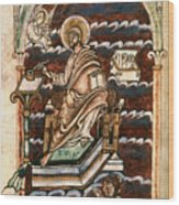 St. Matthew, 10th Century Wood Print