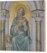 St. Matthew Wood Print