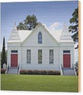 St. Matthews Lutheran Church 2 Wood Print