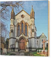 St Michael And St George R.c Church - Lyme Regis Wood Print
