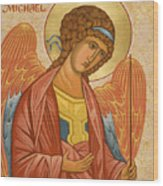 St. Michael Archangel - Jcami Wood Print