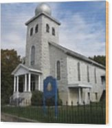 St Nicholas Church Saint Clair Pennsylvania Wood Print