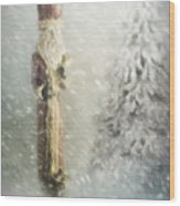 St Nicholas In The Snow Wood Print