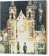 St Nicolaaskerk Church Wood Print
