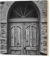 St Olafs Church Door Wood Print
