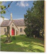 St Oswald's Church Entrance Wood Print