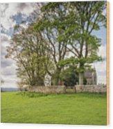 St Oswald's Church Heavenfield Wood Print