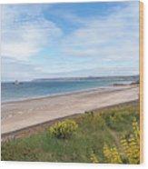 St Ouen's Bay Jersey Wood Print
