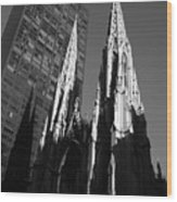 St. Patrick's Cathedral Wood Print