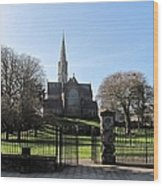St. Patrick's Cathedral, Trim Wood Print