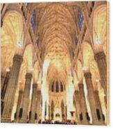 St. Patricks Cathedral Wood Print