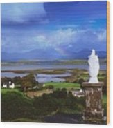 St Patricks Statue, Co Mayo, Ireland Wood Print