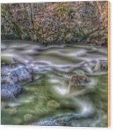 St. Paddy's River Wood Print