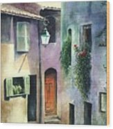 St. Paul De Vence Wood Print