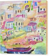 St. Paul's Bay Malta Memories Wood Print