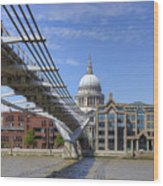 St Paul's Cathedral Wood Print
