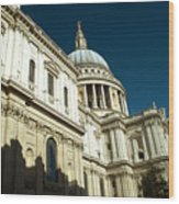 St Pauls Cathedral London 2 Wood Print