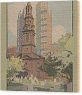 St. Paul's Chapel Wood Print