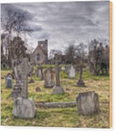 St Peter And St Paul Headcorn Wood Print