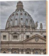 St. Peter's Basilica Wood Print