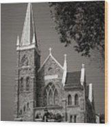 St. Peter's Catholic Chuch Wood Print by Judi Quelland