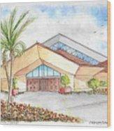 St. Peter's Catholic Church, Jupiter, Florida Wood Print