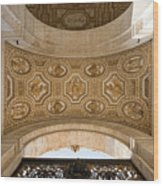 St Peter's Ceiling Detail Wood Print