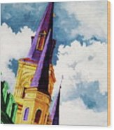 St. Peter's Wood Print