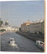 St. Petersburg Canal - Russia Wood Print