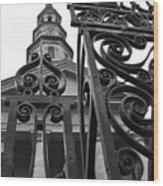 St. Philips Church  Wood Print