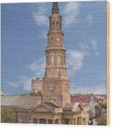 St Philips Episcopal Church Wood Print