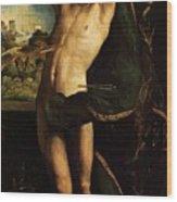 St Sebastian Wood Print