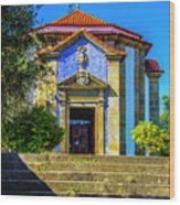 St. Sebastian's Chapel Wood Print