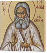 St Seraphim Of Sarov Wood Print